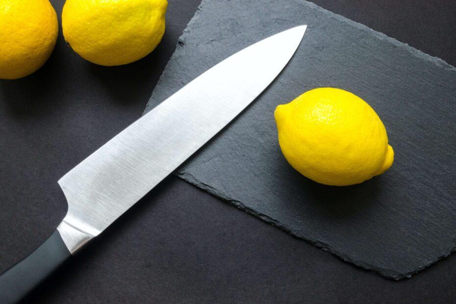 Messerset Damast